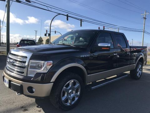 2014 Ford F150 4x4 - Supercrew Lariat - 157 WB