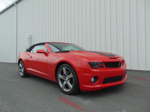 Certified Pre-Owned 2011 Chevrolet Camaro 2SS Convertible Rear Wheel Drive Convertible