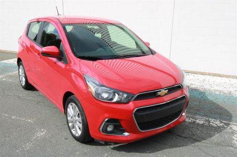 Certified Pre-Owned 2018 Chevrolet Spark LT Front Wheel Drive 5-Door Hatchback